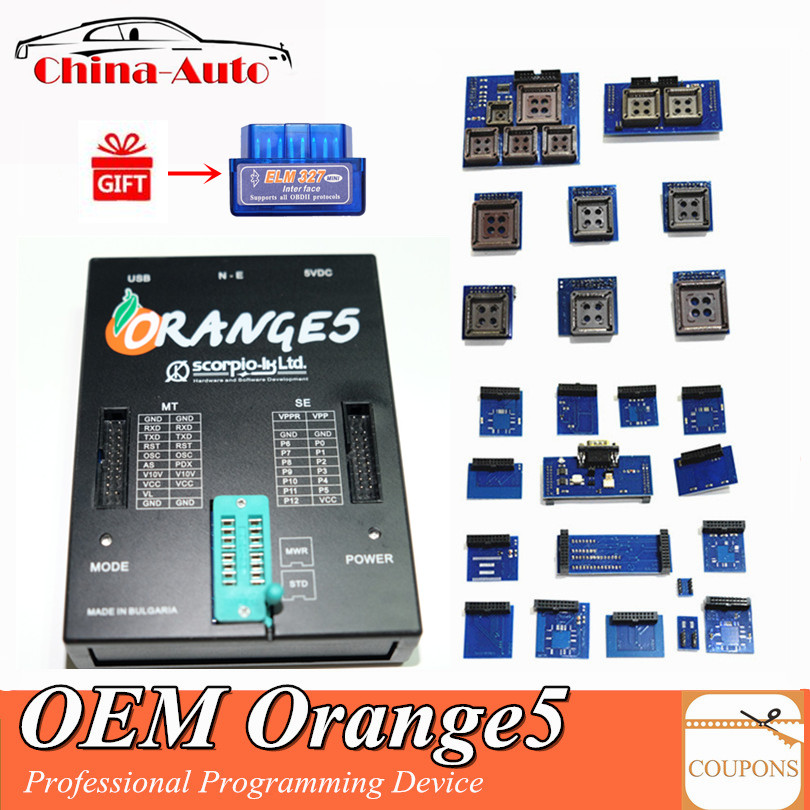 OEM Orange5 Professional Programming Device With Full Set Hardware Enhanced Function Software Orange 5 programmation DHL