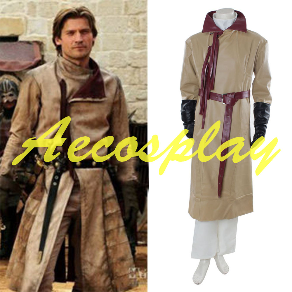 buy hot game of thrones jaime lannist cosplay costume outfit adult halloween costume from reliable adult halloween costumes suppliers on