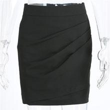 f026e96fc Negro Apretado Mini Falda - Compra lotes baratos de Negro Apretado ...