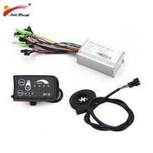 36 V 250 W 350 W 48 V 500 W kontroler LED810 wyświetlacz miernik PAS zestaw E-do konwersji roweru zestaw podwójny tryb czujnikiem halla i sali bezczujnikowy