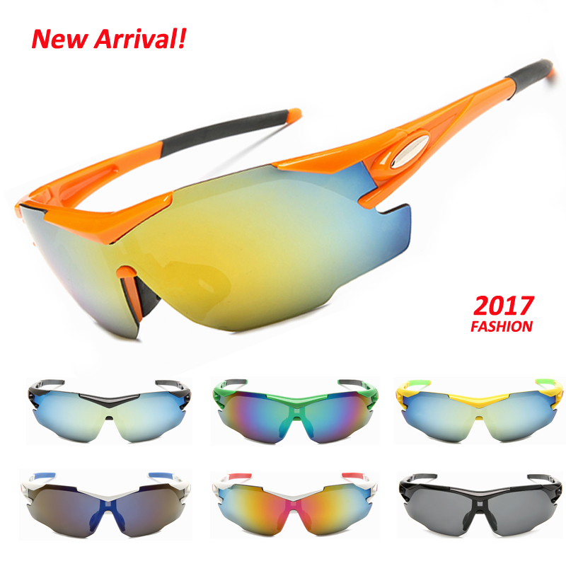 Новинка 2017 года Дизайн Спорт на открытом воздухе Пеший Туризм Велоспорт Лыжный Спорт солнцезащитные очки Для мужчин Для женщин велосипед о...