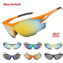 2017 New Design Outdoor Sports Hiking Cycling Skiing Sunglasses Men Women Bike Bicycle Goggles Windproof Ski Glasses Eyewear