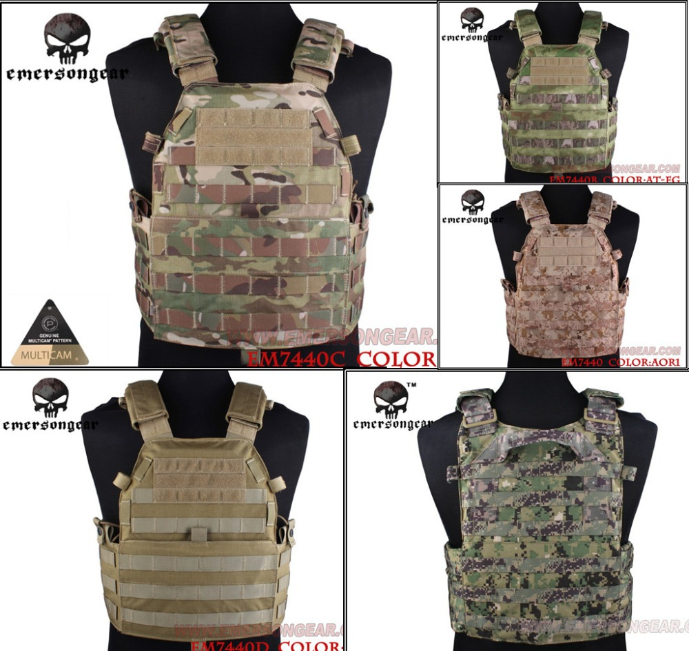 EMERSON LBT6094A Style Tactical Multicam Vest Airsoft Paintball Military Army Combat Gear EM7440C emerson gear sniper waist pack genuine multicam 500d military tactical waist pack free shipping sku12050410