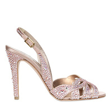 Made-to-order Handamde Pink Rhinestone Women Shoes Sandal Open Thin High Heel Ladies OL Pumps Stilettos Party Women Shoes
