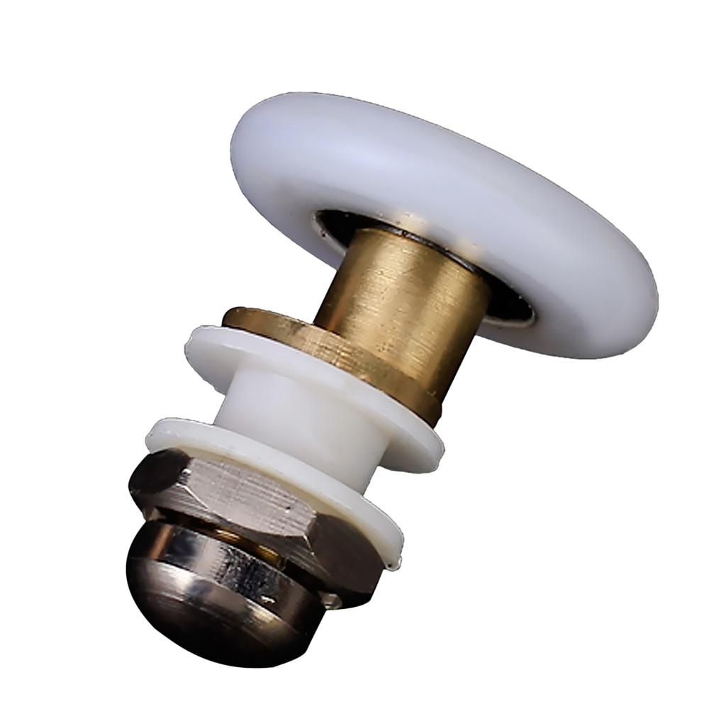 27mm Wheel Diameter Easy Glide Replacement Shower Door Roller For Shower Cabins Shower Door Enclosures