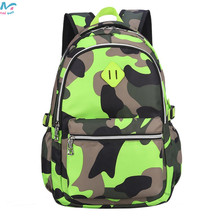 Camouflage Stype School Bag Backpack for for Military Fans Boys Girls ,Primary /Middle School Kids School Backpack 820