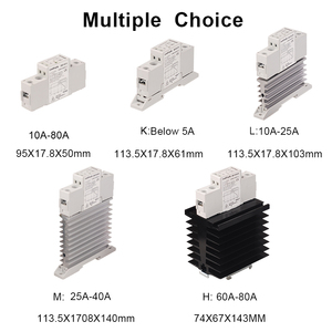 Image 5 - TRA48D25L 25A Photoresistor Heat Sink SSR Solid State Relay Din Rail  DC AC 5V 12V 24V 32VDC Input 42 480VAC Output Power Relay