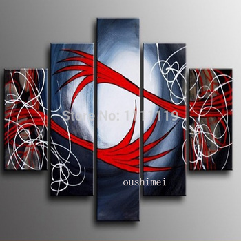 Hand Painted Abstract Picture On Canvas Hug Oil Painting No Frame Handmade Modern Art Living Room Decor Wall Art Hang Paintings