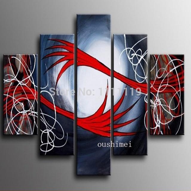 handgemalte abstrakte bild auf leinwand umarmung Ölgemälde no ... - Moderne Kunst Wohnzimmer