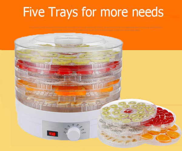 Household dried fruit machine Fruits and vegetables dehydration dry meat food machine Snacks in the dryer qbang fruit machine timing food dehydration air dryer fruits vegetables pet meat food dehydrator