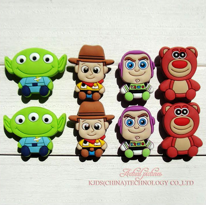 Free shipping 8pcs Toy story shoe charms shoe accessories for wristbands croc jibz best gift for shoe decoration Kids giftFree shipping 8pcs Toy story shoe charms shoe accessories for wristbands croc jibz best gift for shoe decoration Kids gift