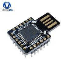 Besouro teclado virtual pro micro módulo atmega32u4 mini placa de expansão desenvolvimento para arduino leonardo r3 dc 5v i2c