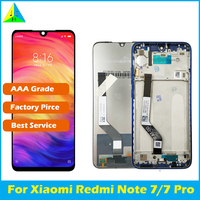 Original for Xiaomi Redmi Note 7 LCD Display Screen Touch Digitizer Assembly Redmi Note7 Pro LCD Display 10 Touch Repair Parts