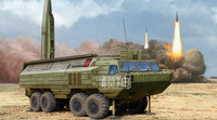 The Assembly Model of Military Armored Military Vehicles 1:35 SS 23 Soviet Missile Transport Truck 85505 Spider