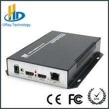 DHL Envío Libre HDMI + H.264 Soporte de Protocolo ONVIF RTSP RTMP IPTV Codificador de Audio Independiente
