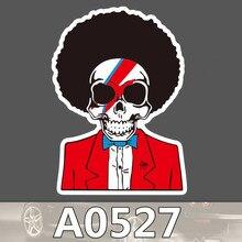 Bevle A0527 Explosion Kopf Schädel Knochen Wasserdichte Kühle DIY Aufkleber Laptop Gepäck Skateboard Kühlschrank Auto Graffiti Cartoon Aufkleber