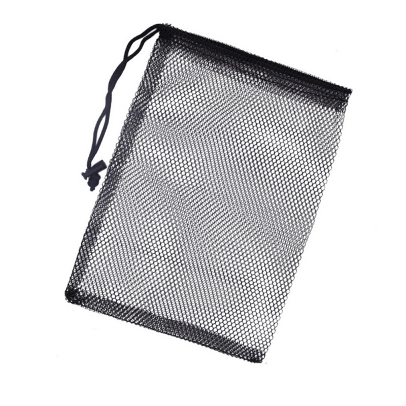 Image 4 - Nylon Mesh New Golf  Nets Bag Pouch Golf Tennis Keep Up 50 Balls Holder Golf balls Storage Clasp Training Aid Bag 30*20cm-in Golf Training Aids from Sports & Entertainment