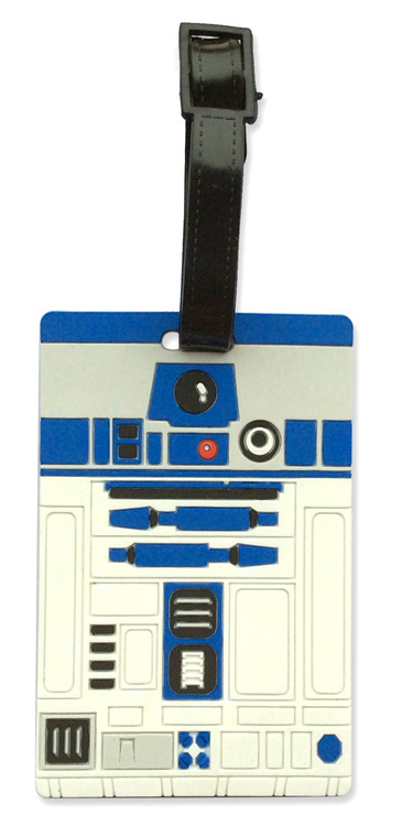 2018 New Limited Travel Bag Koffer Travel Accessories Cartoon Luggage Tag Star Wars R2d2 Bus Card Set Of Check Baggage Drop