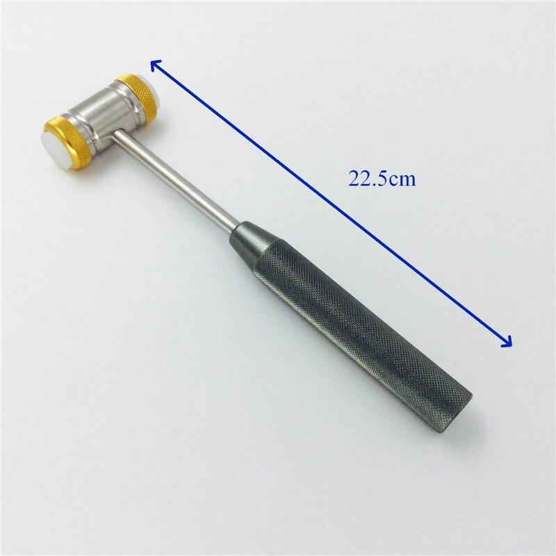 22.5cm Bone Mallet Rubber tip ENT plastic orthopedics surgical Instruments22.5cm Bone Mallet Rubber tip ENT plastic orthopedics surgical Instruments