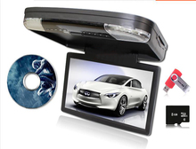 "15.6"" car roof dvd player with USB/SD(MP5))/IR/FM Transmitter Wireless game HDMI+ car flip down dvd HD 1080P free shipping"
