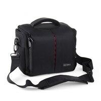 shockproof Camera Bag For Olympus EM10 em5 EM5II Iem1 EPL6 EPL5 E PL7 EPL8 EM5 markII EM10II DSLR pouch Case with two lens