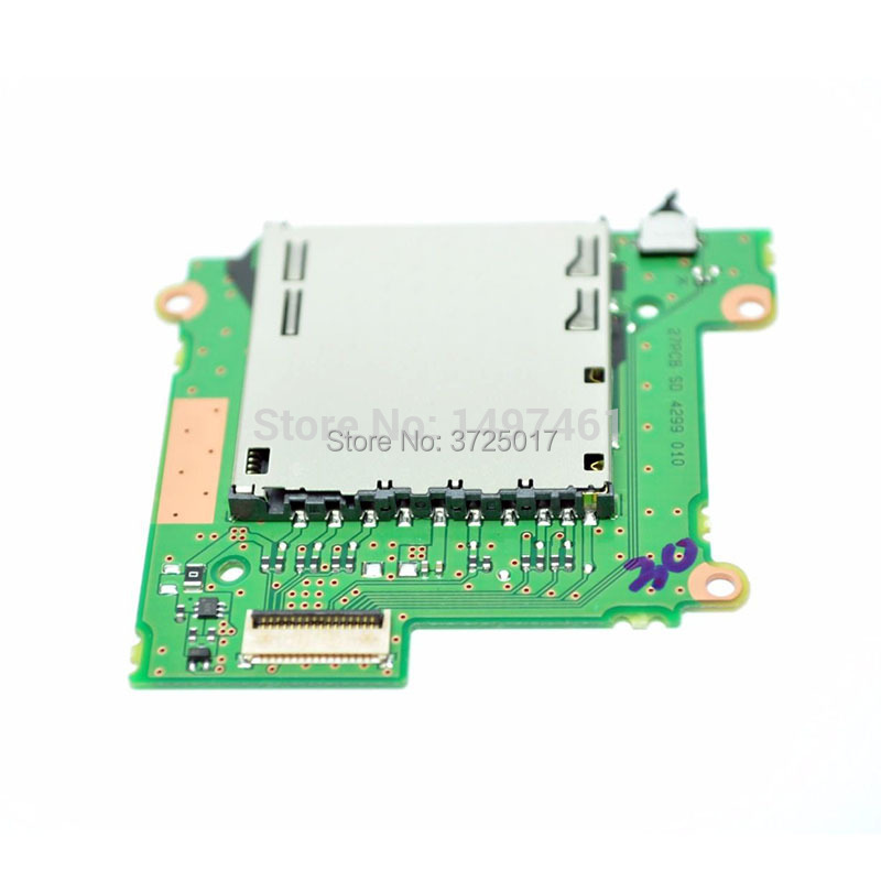 Us 28 99 Sd Card Memory Slot Holder Board Parts For Canon Eos 1300d Rebel T6 Kiss X80 Ds126621 Slr In Circuits From Consumer Electronics On