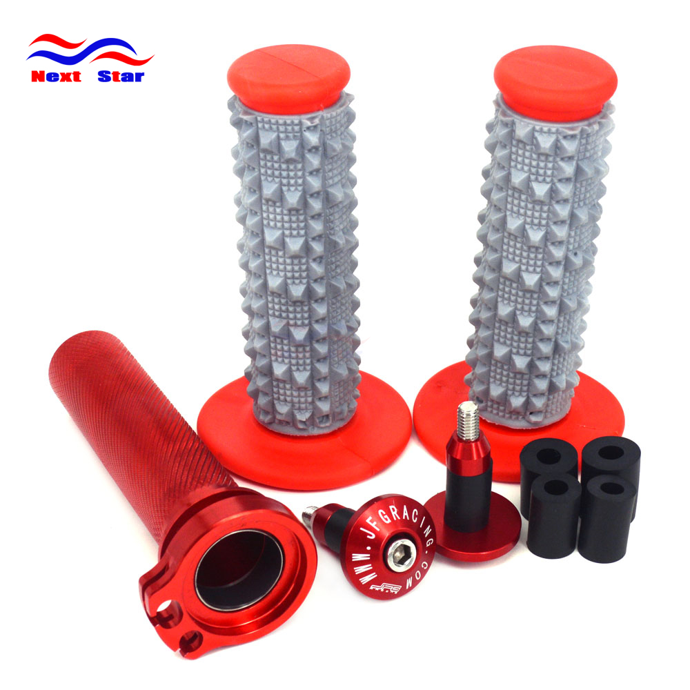 Motorcycle Throttle Handle Plugs Hand Glue For HONDA CRF250R CRF250X CRF450R CRF450X CRF450RX CRF 250R 250X 450R 450X 450RX 2017