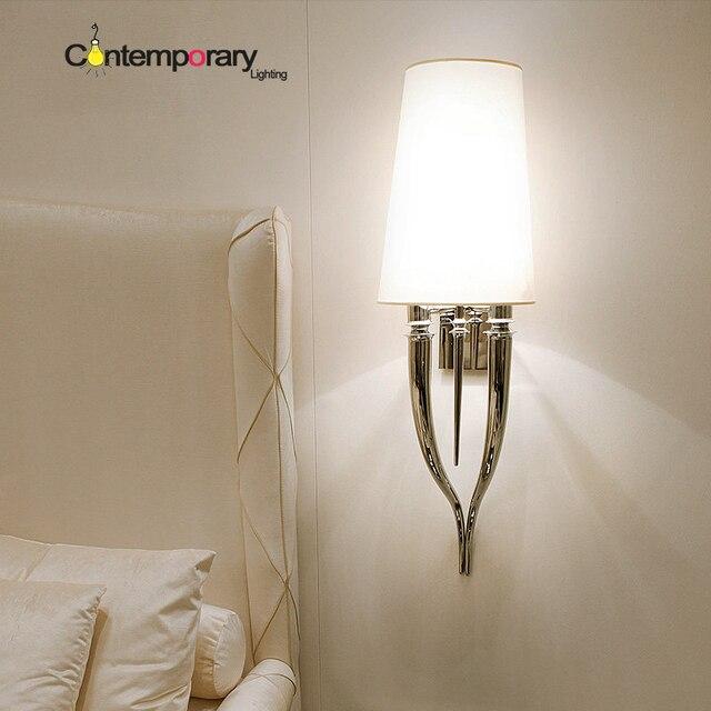 Gold Chrom Moderne wandleuchte für schlafzimmer wandleuchte lampe ...
