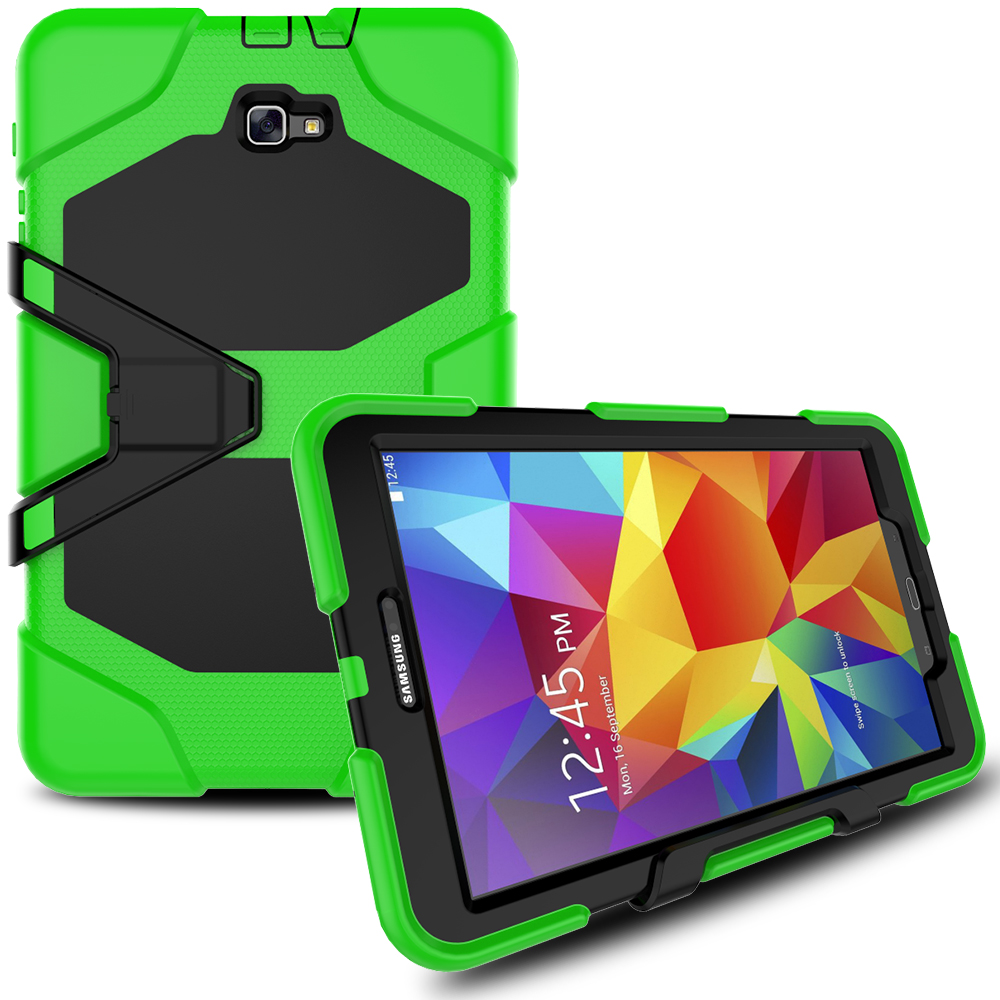 Armor Silicon Full Body Tablet Kids Children Case For Samsung Galaxy Tab A A6 10.1 2016 Case T580 T585 SM-T580 SM-T585 Cover