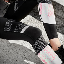 2017 Mesh Legging Sexy Grey Leggins Black patchwork dot Leggings Spliced Women Autumn Workout Leggings High Waist Leggings