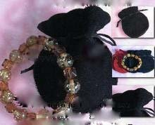 Free shiipng!!!!500pcs/lot black color 9x12cm Gift Bags/Gift Pouch/Jewelry Bgas/Jewelry Pouch/Velvet Bags VB0008