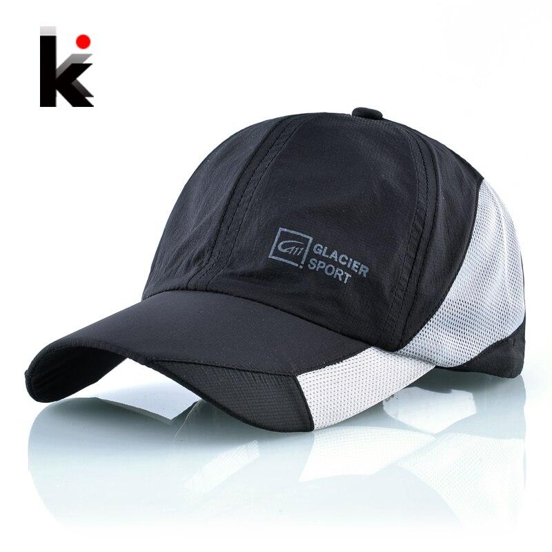 Baseball Hats Snapback-Cap Mesh Bones Quick-Dry Sport Running Unisex Women Casquette
