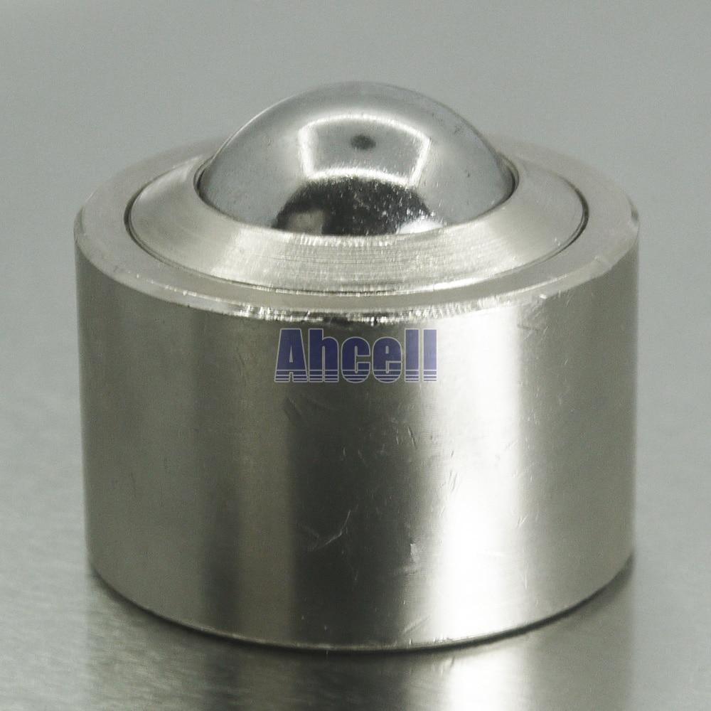 Ahcell Drop In Bearing Solide Stahlkugel Förderrolle Ksm-22 Swivel Bull Caster Multi-richtung Stud Ball Transfereinheit Direktverkaufspreis