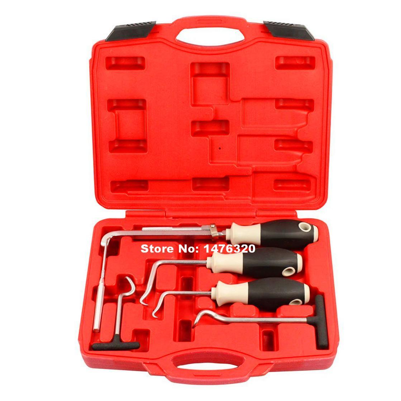 Voiture Moto Joint D'huile Moteur Joints Toriques Retrait Outil D'extracteur de Joint Automatique De Garage Outils 115/150/165/193/210/285mm AT2103