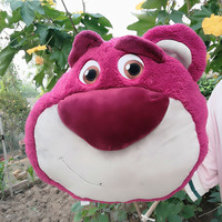 35CM 13 78 Original Toy Story Lotso Huggin Bear Stuffed Lotso Bear Plush Toys For Kids