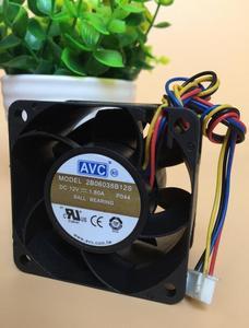 Original AVC 2B06038B12S 6038 60x60x38mm 12V 1.80A quatro linha violenta ventilador ultra silencioso