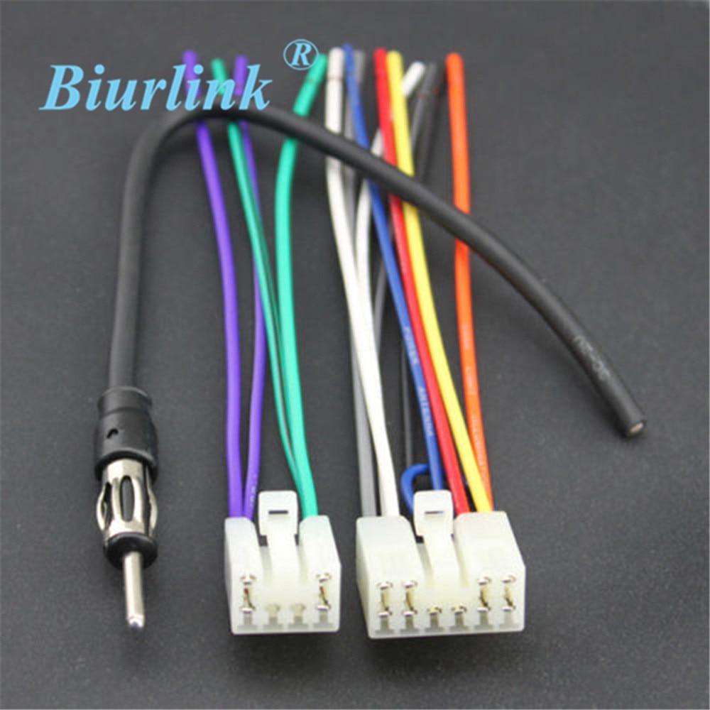 toyota corolla radio wiring harness adapter