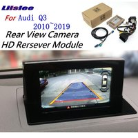 For Audi Q3 2010~2018 Front Rear View Reversing Camera Original screen upgrade Interface Adapter backup Camera Decoder