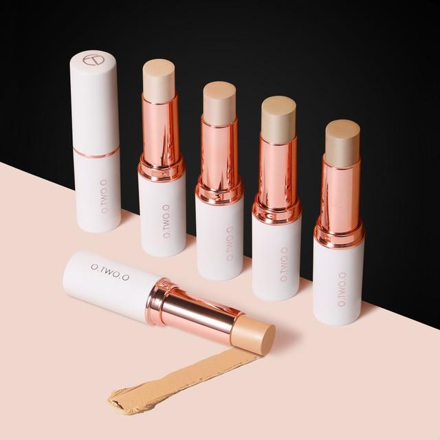 O.TWO.O Concealer Stick Foundation Makeup Full Coverage Contour Face Concealer Cream Base Primer Moisturizer Hide Blemish 5