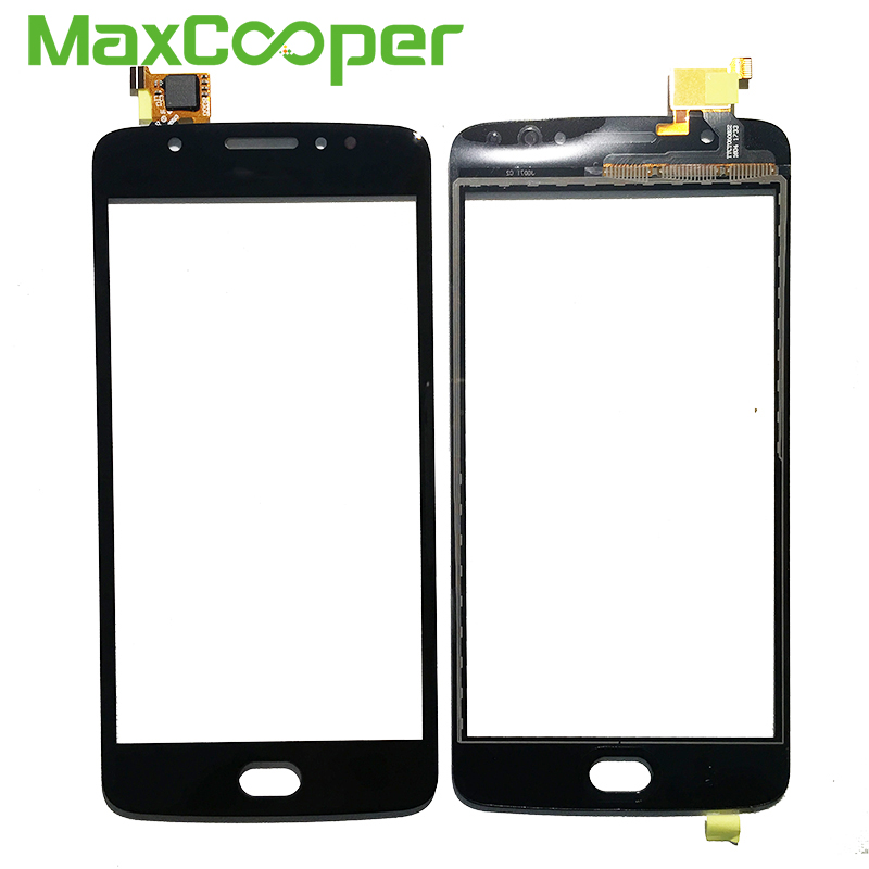 Glass-Panel-Sensor Motorola Digitizer Touch-Screen Front For Moto/E4/Xt1766/.. Top-Quality