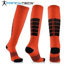 Носки унисекс fancyteck компрессионные для езды на велосипеде