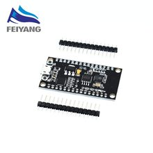 1pcs NodeMCU CP2102 Lua WIFI module integration of ESP8266 + extra memory 32M Flash, USB-serial CP2102(China)