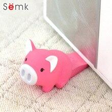 Semk Action Figur Gullig Dörrstopp Dörrstopp Rosa Pig 1pc