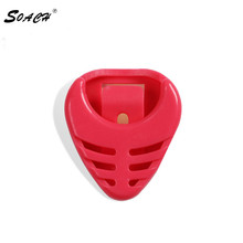 SOACH Bass ukulele guitar dial clip picks box boxes fish special Can stick 7 colors available Paddle accessories