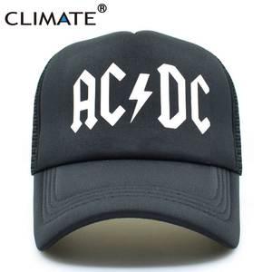 c62b394d9a1 CLIMATE Men Women Trucker Mesh Band Metal Rock Fans Cap Hat
