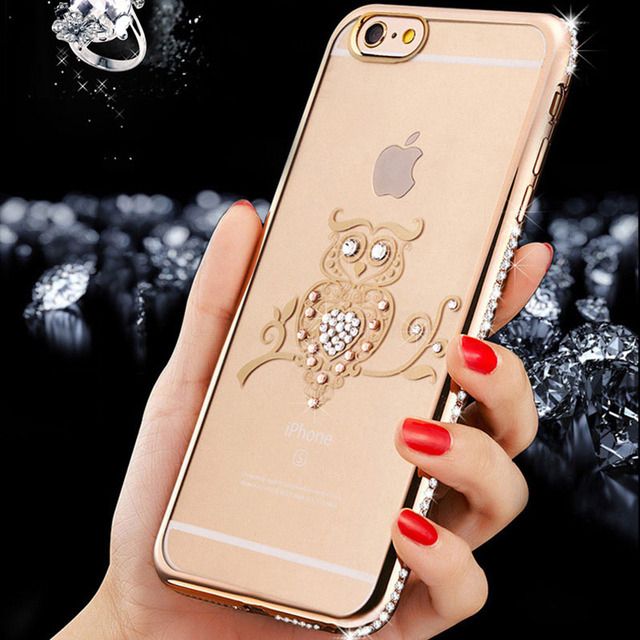 Luxury Diamond Rhinestone Style Phone Case For iPhone