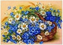 5d diamond painting christmas diy diamant accessoires full rhinestone embroidery Daisy flowers Mosaic