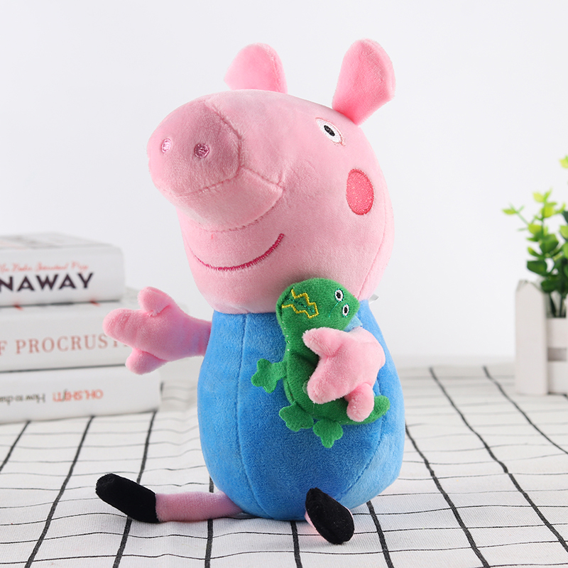 Peppa Pig Little George Pepe Pig Family Plush Toy 25cm Filled Doll Party Plush Toys Children's Birthday Gifts 2
