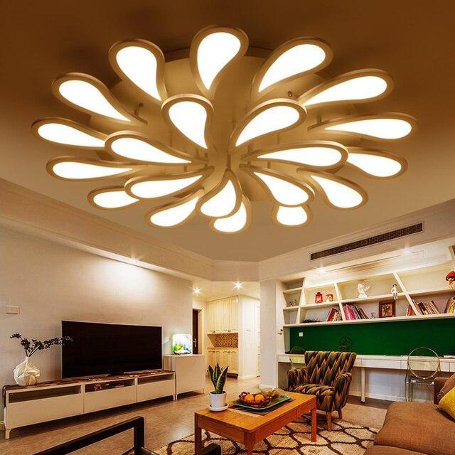 Acrilico moderno led lampadari per soggiorno camera da letto ...