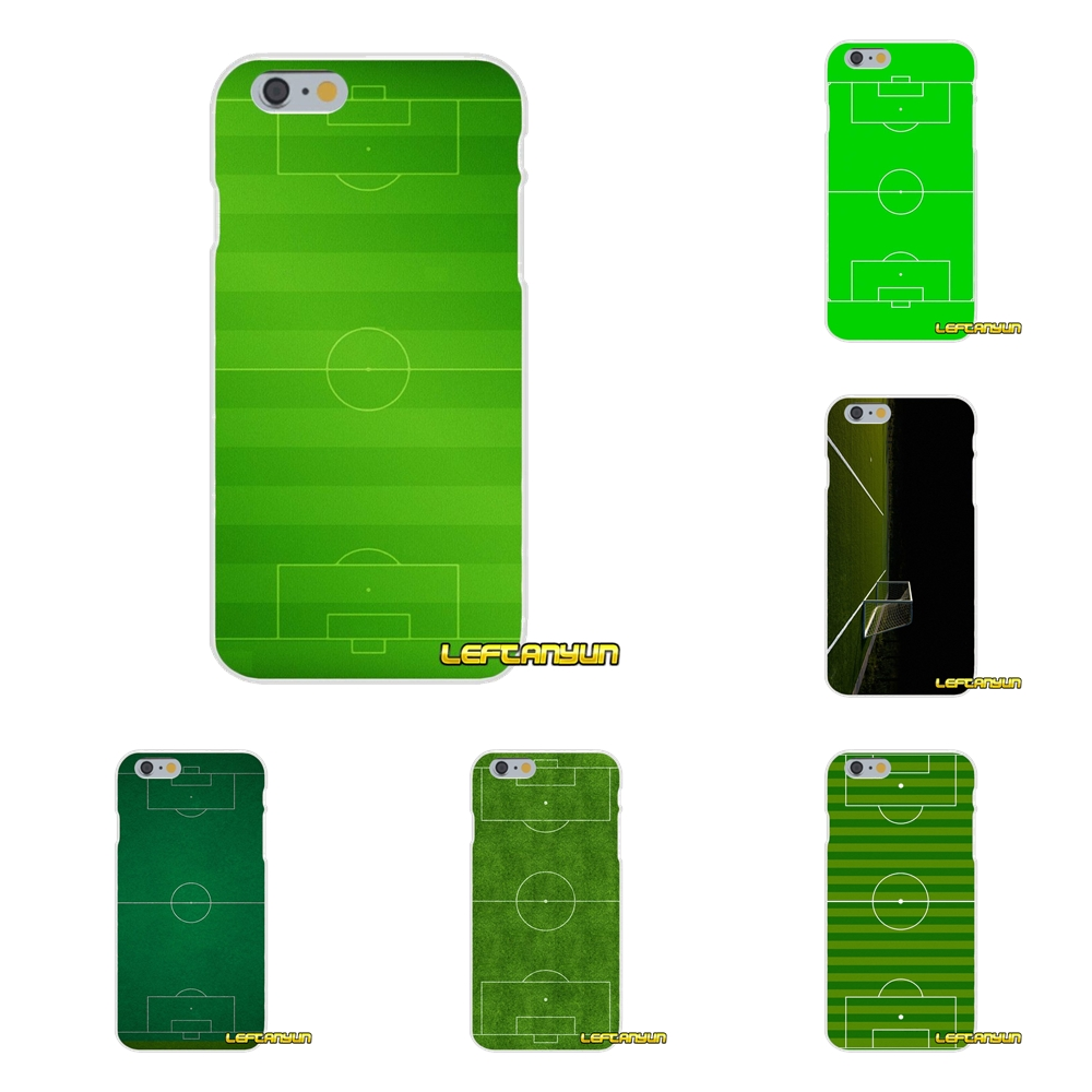 Football Field Soccer Soft Silicone phone Case For Huawei G7 P8 P9 p10 Lite 2017 Honor 5X 5C 6X Mate 7 8 9 Y3 Y5 Y6 II
